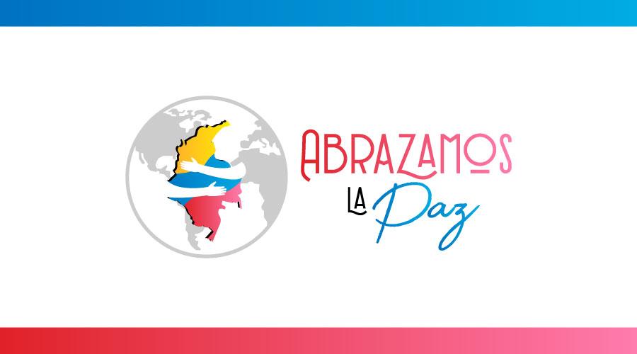 Ciudadanos y organizaciones sociales abrazan la paz de Colombia