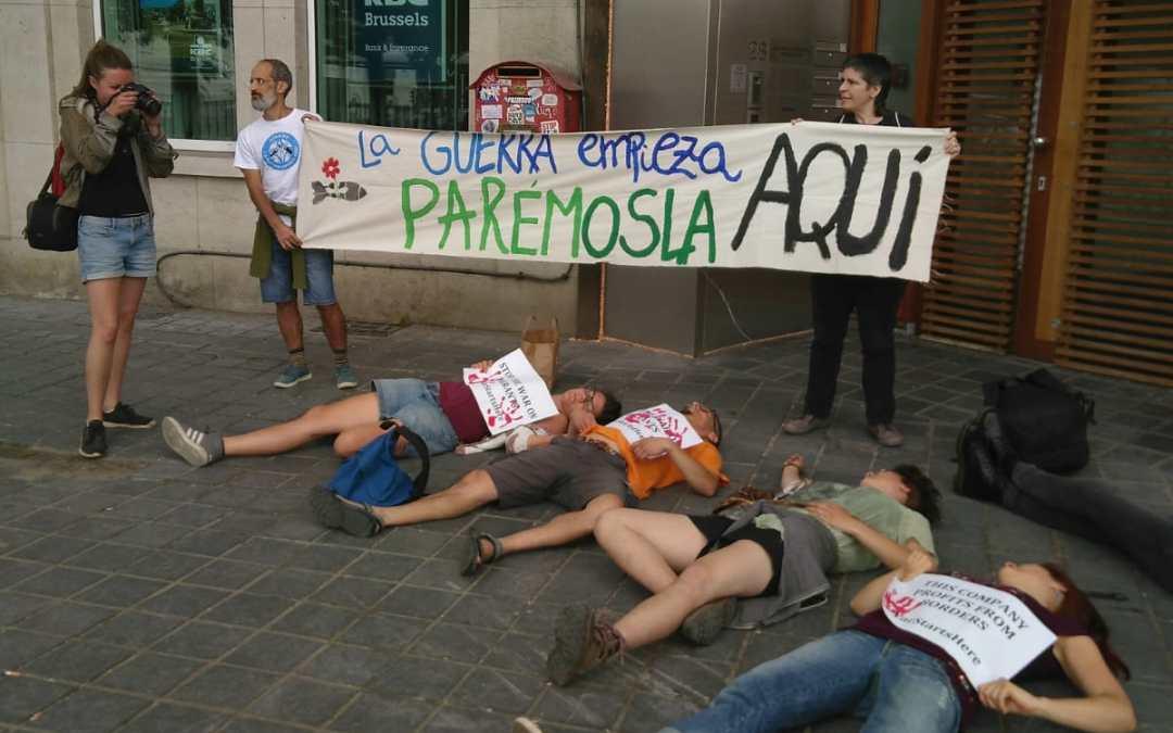 Dos activistas antimilitaristas canarios, detenidos
