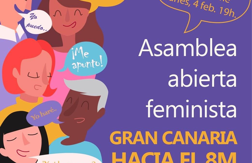 4 Febrero: Asamblea Abierta Feminista – Gran Canaria