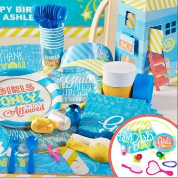 Girls Only Party Packs