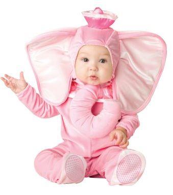 Baby Pink Elephant