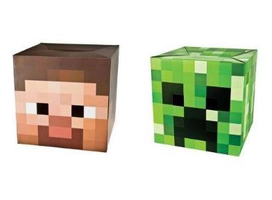 Minecraft Steve and Creeper Mask Set