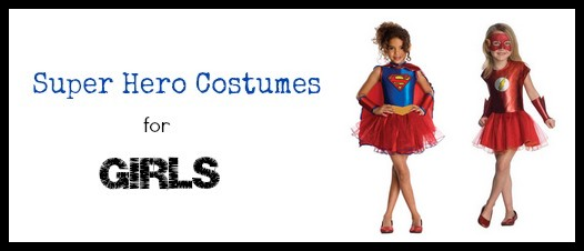 Super Hero Costumes for girls