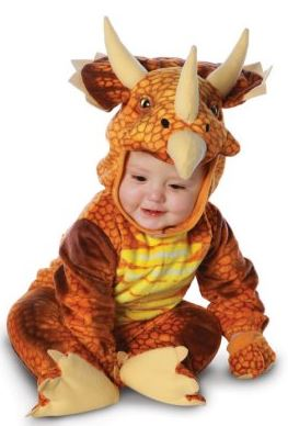 Triceratops Infant Toddler Costume