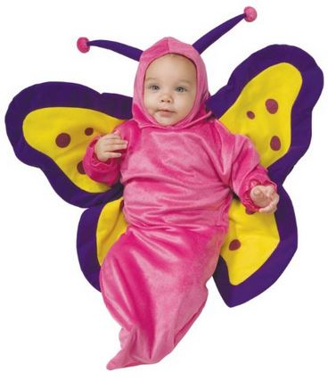 baby costume butterfly