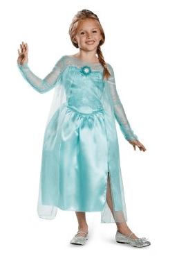 Frozen - Elsa Snow Queen Girls Costume, elsa costume, frozen costume