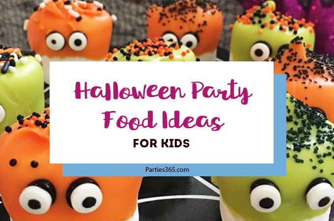 Halloween Party Food Ideas - Kids Edition