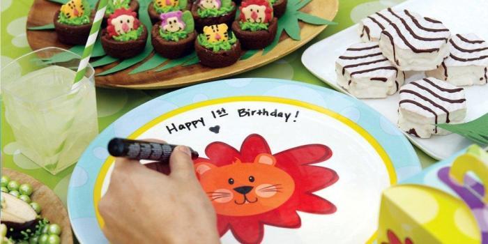 Safari Friends 1st Birthday Theme 02