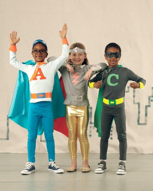 Kids Super hero halloween costumes