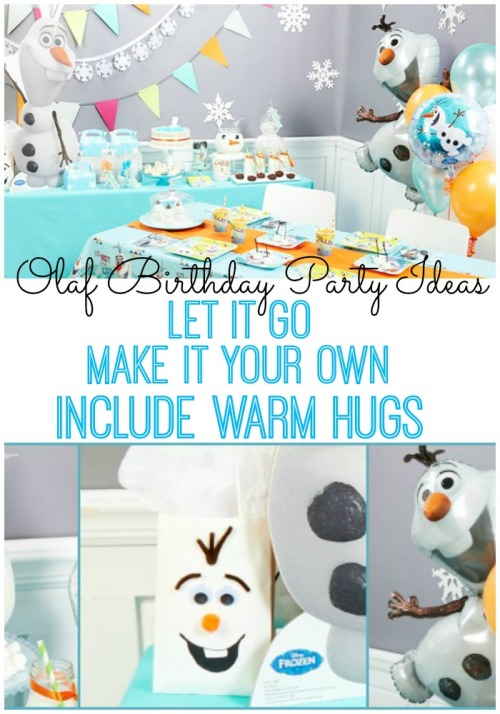 olaf birthday party