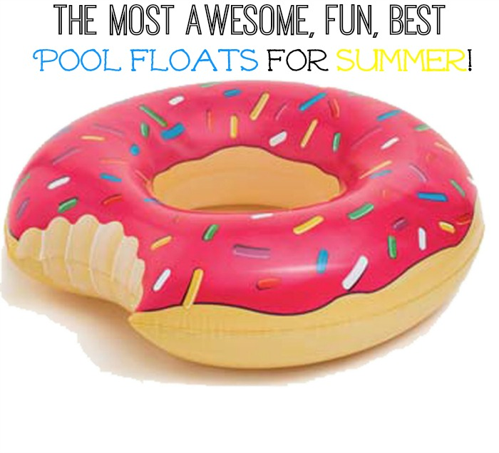 Donut Pool Float 01