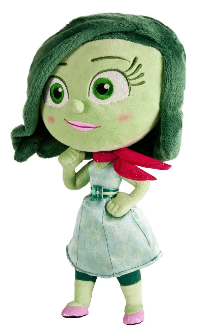 Inside Out Disgust Talking Plush