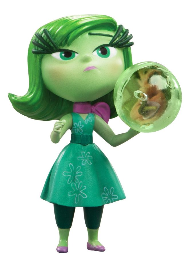 Inside Out Toy Disgust Figure