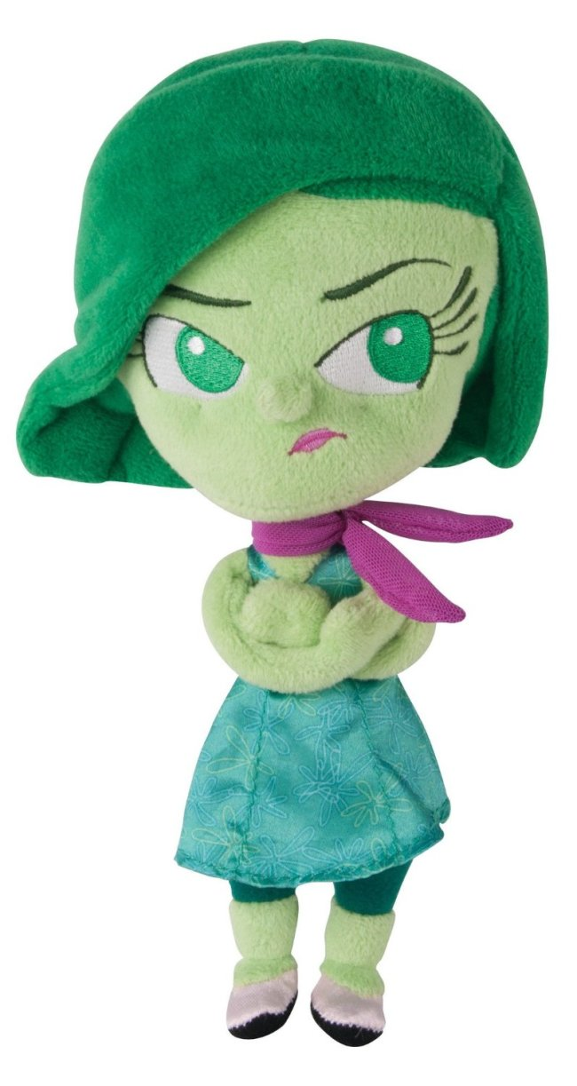 Inside Out Toy Disgust Plush
