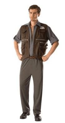 Jurassic World Owen Costume Adult