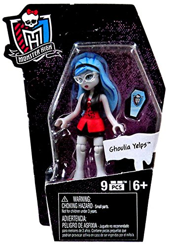 Mega Bloks Monster High Ghouls Skullection Ghoulia Yelps Mini Figure