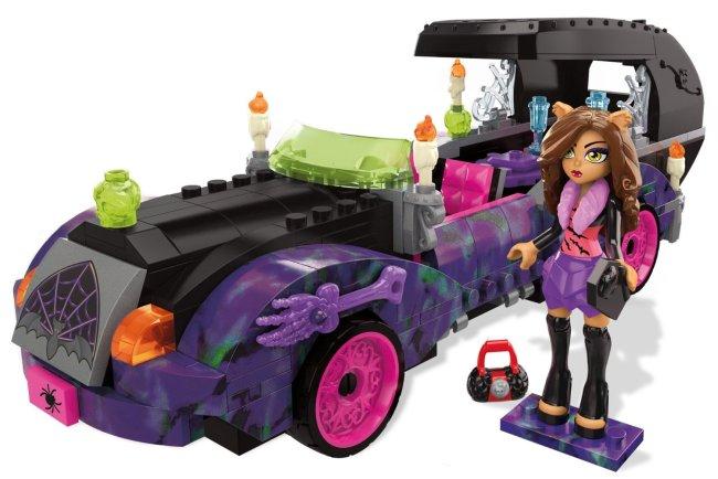 Mega Bloks Monster High Monster Moviemobile Building Set