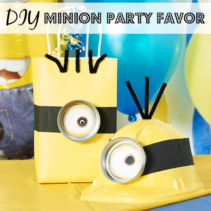 Minion Party Favors