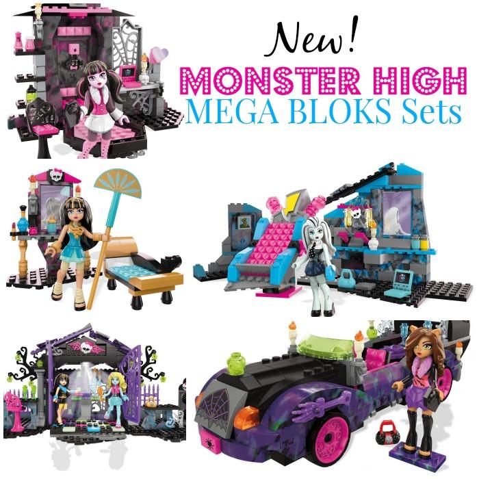 Monster High Mega Bloks Sets