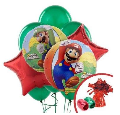 super mario party decorations