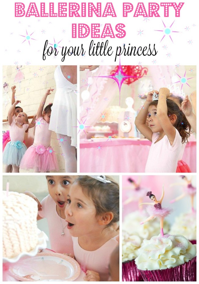 If you have an aspiring ballerina in your house, this Ballerina party party theme will make her twirl with delight! The soft pink, ballerina-themed décor is perfect for dancing the day away with friends.