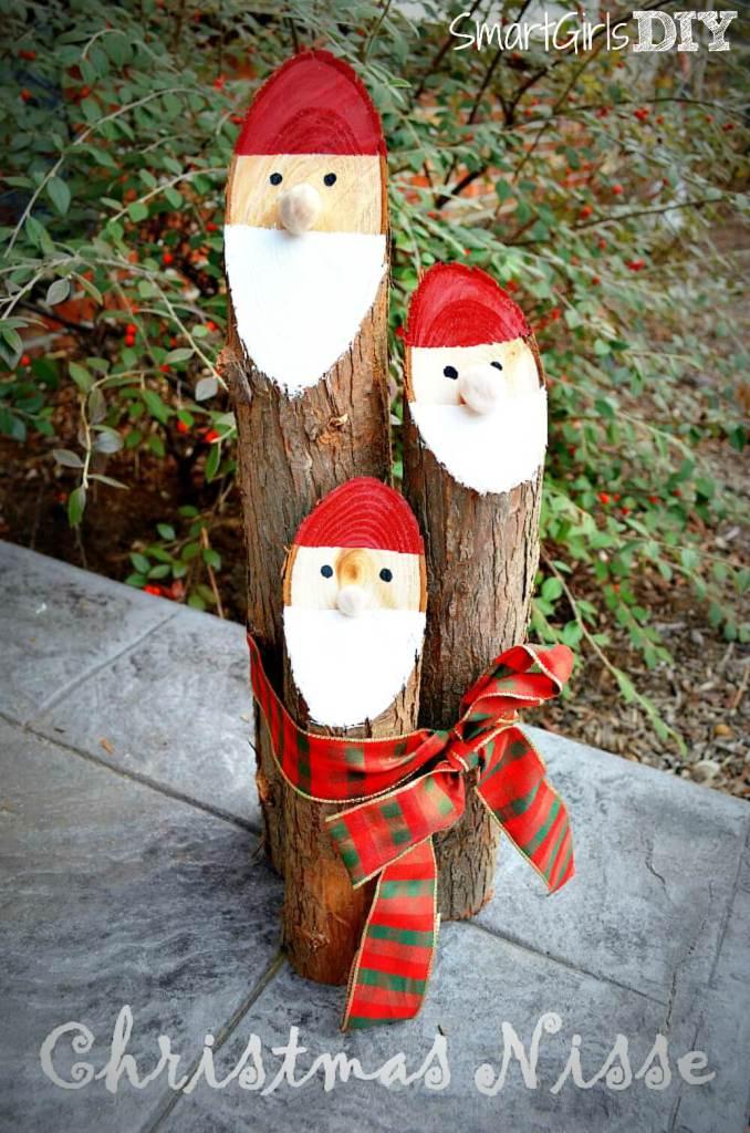How to make santa logs