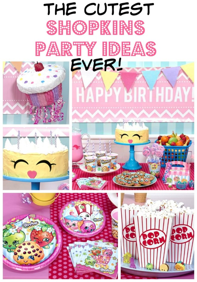 These Shopkins party ideas are full of color, fun, food and so many great ideas! From the decor and the food, to the favors and the cake, you'll walk away with some fabulous ideas.