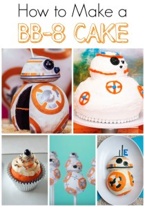 How to Make a BB-8 Cake Step by Step