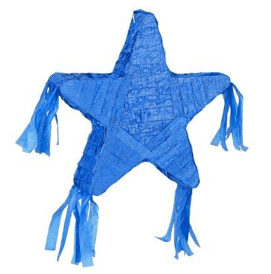 blue star pinata