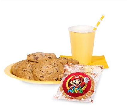 Super Mario Party Cookie Favor Kit