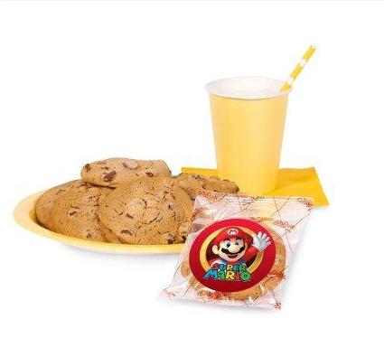 Super Mario Party Cookie Favor Kit