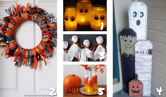 25 Non-Scary Halloween Decor Ideas | Halloween Decor | Fun Halloween Decorations