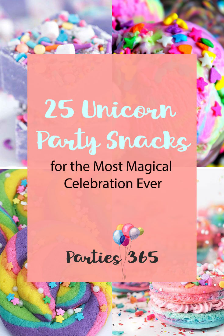 Hosting a magical Unicorn Party for your little girl? We've rounded up the best Unicorn Party Snacks for you! | Unicorn Party Food | Unicorn Party Ideas | Unicorn Birthday Food