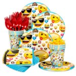 Smile! Where to Find Emoji Party Supplies + Party Ideas