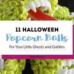 11 Halloween Popcorn Balls for Your Little Ghosts and Goblins