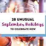 28 Unusual September Holidays to Celebrate
