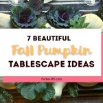7 Fall Pumpkin Tablescape Ideas