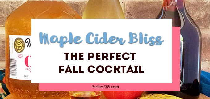 Maple Cider Bliss – The Perfect Fall Cocktail