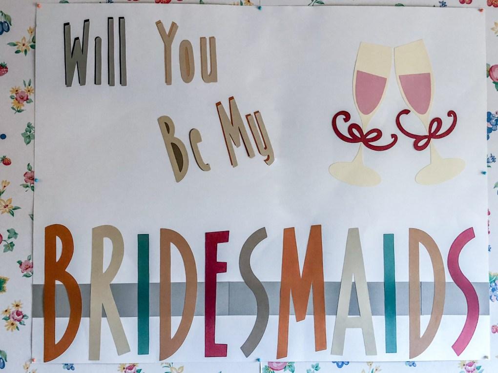 Unique Bridesmaid Proposal Idea: DIY Bridesmaid Brunch with Gift Box