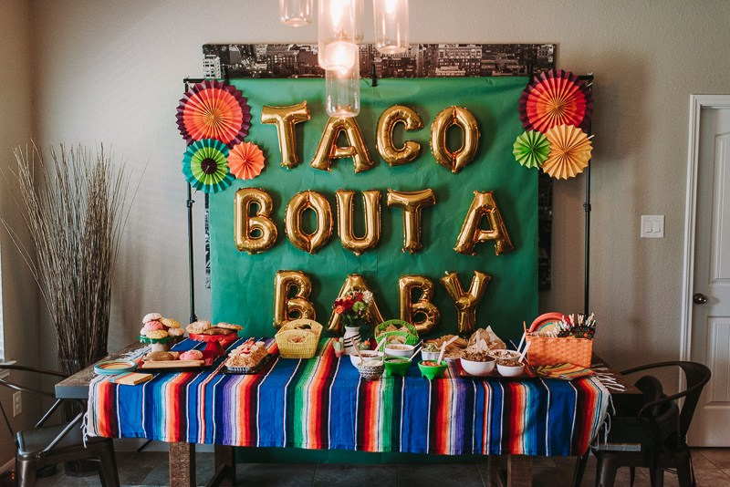 11 Simple and Neutral Baby Shower Theme Ideas: Fiesta Theme