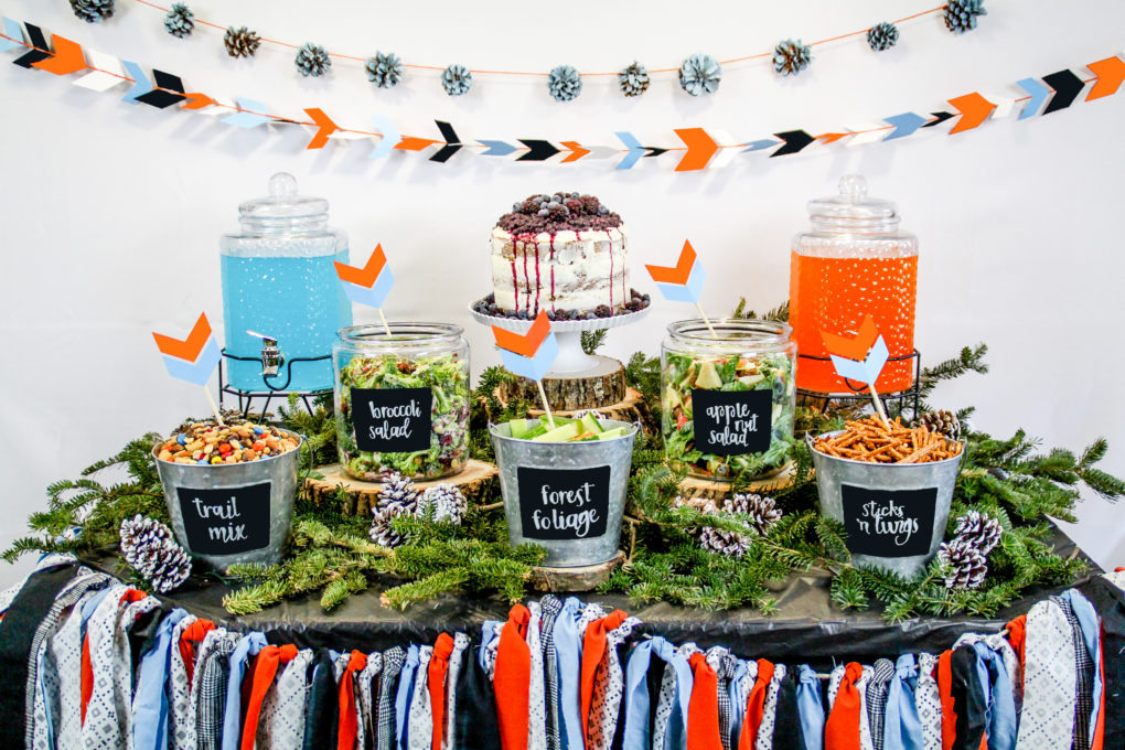 11 Simple and Neutral Baby Shower Theme Ideas: Woodland Creature Theme