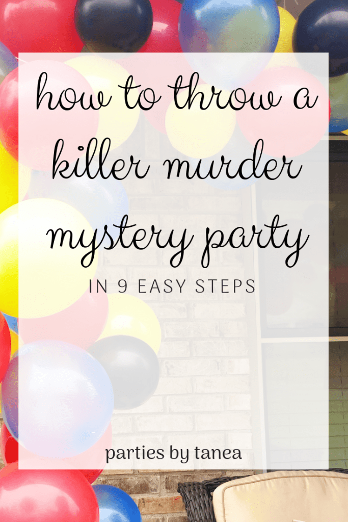 How to Host a Murder Mystery Party Thinking about throwing a murder mystery party but don't know how? I'm going to teach you how to host a murder mystery party that is, well, killer! All you have to do is read this post and throw the most interesting party of all time. Simple, right?