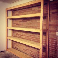 How to Build Shelves for your Garage - Parties for Pennies