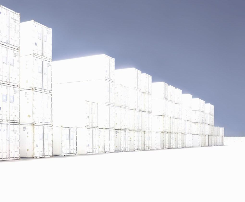 Andreas Gefeller, IP 11, Bremerhaven, aus der Serie Blank, 2012, Inkjet, 117 x 142 cm, Copyright VG Bild-Kunst, Bonn 2021