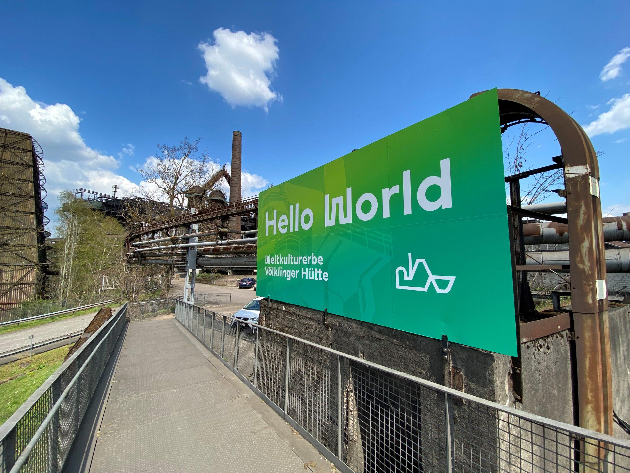 Hello World im Weltkulturerbe