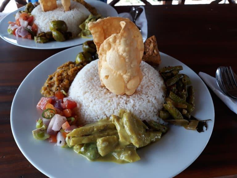 Plat typique Sri Lanka