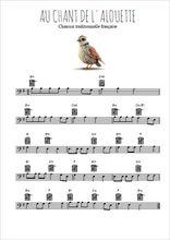 Au Chant De L Alouette : chant, alouette, Chant, L'alouette, Partition, Gratuite