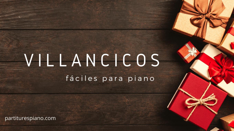 villancicos para piano en pdf