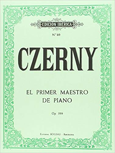 Czerny Mi primer maestro de piano op. 599 pdf