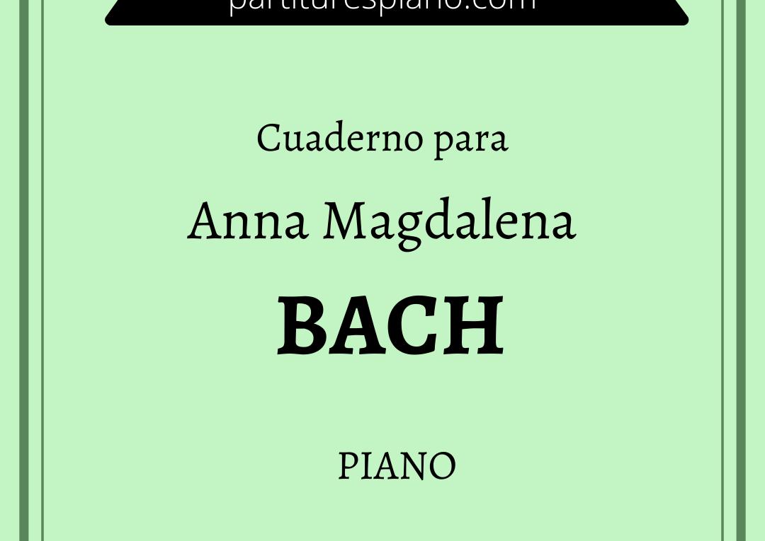 cuaderno anna magdalena bach pdf urtext